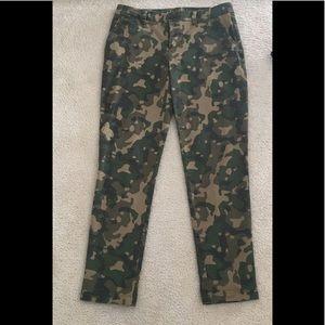 GAP Pants - Gap camouflage pants  size 4